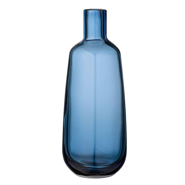 Bloomingville+Vase+25,5+cm,+Navy,+Bloomingville