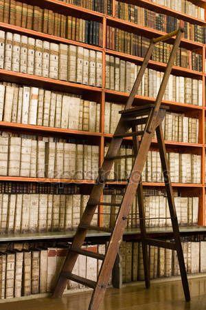 Die besten 25+ Bibliotheksleiter Ideen auf Pinterest Bibliothek - ideen bibliothek zu hause gestalten