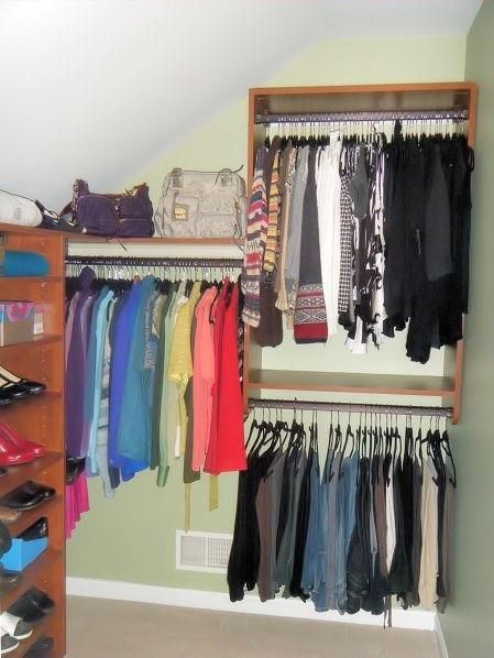 14 best closets with angled ceilings images on pinterest for California closets reno