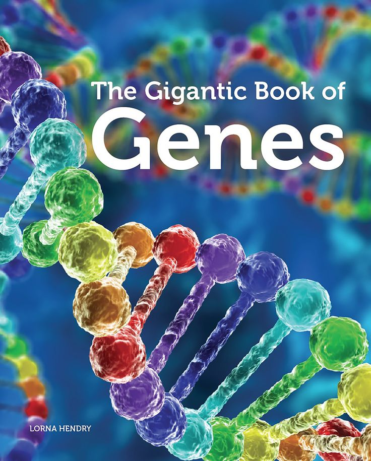 The Gigantic Book of Genes by Lorna Hendry. Shortlisted for the Eve Pownall Award for Information Books 2017