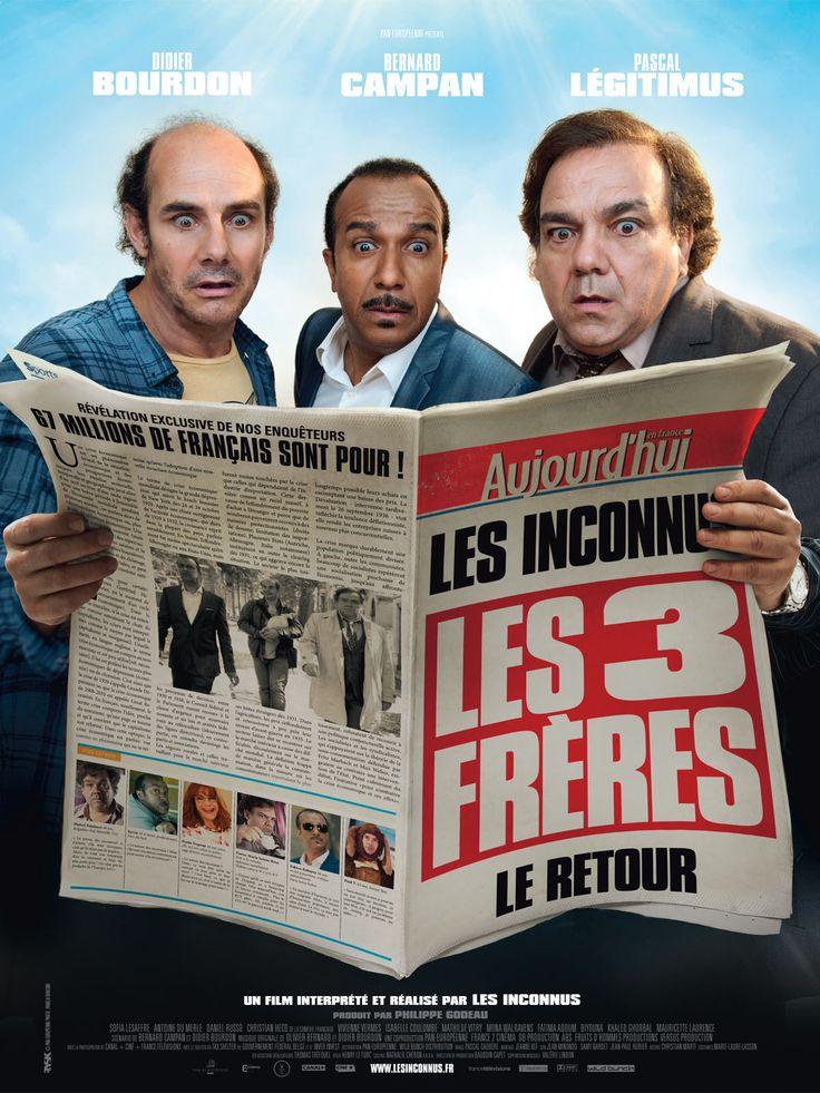 Ils sont trois,Ils sont frères,Ils sont de retour.15 ans après, Didier, Bernard et Pascal sont enfin réunis... par leur mère...Cette fois sera peut-être la bonne.