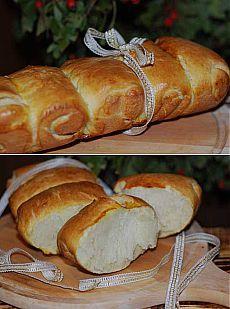 Японский молочный хлеб Hokkaido.
