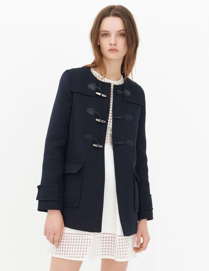 Mathea Coat - Spring-Summer Collection - Sandro Paris