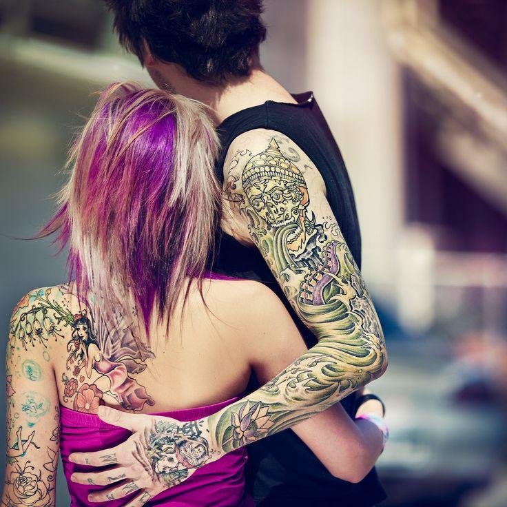 intricate sleeve tattoos deviant art skull water waves lotus fairy flowers tattoo ink. Black Bedroom Furniture Sets. Home Design Ideas