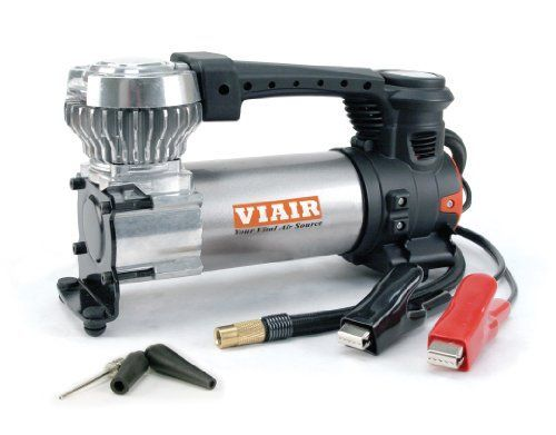 """12 VOLT - 120PSI Max Working Pressure, engine must be running during use. * 1.47CFM Free Flow @ 0 PSI * Portable air compressor powered via alligator clamps direct to battery. * Good for small ATVs, trucks, SUVs, and sedans with up to 33"""" Tires. * (Placed within the Amazon Associates program) * 21:38 Mar 15 2017"""