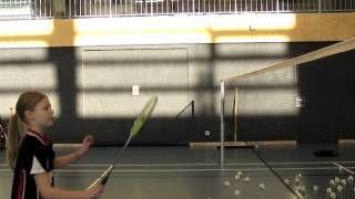 Badminton Trickshots - Badminton Finten - YouTube