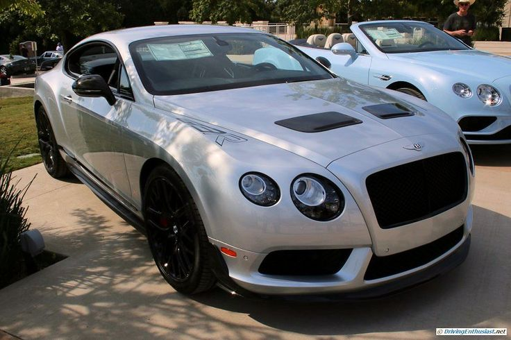 2015 Bentley Continental GT3-R. A seen at the 2015 Texas All British Cars Day show.
