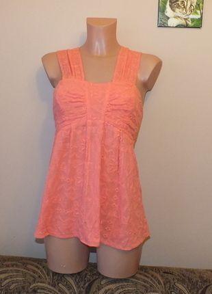 Kup mój przedmiot na #vintedpl http://www.vinted.pl/damska-odziez/bluzki-bez-rekawow/11961139-rozowa-bluzeczka-z-haftami-closet-14-42-xl