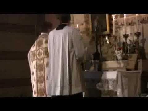 Katholische Konterrevolution - Die alte tridentinische lateinische Messe
