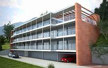 Новые современные апартаменты в Pregassona
