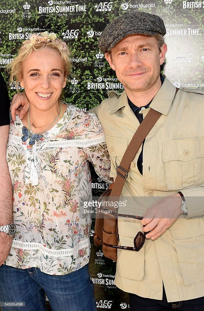Amanda and Martin at the British Summer Time gathering in Hyde Park (July 2016)