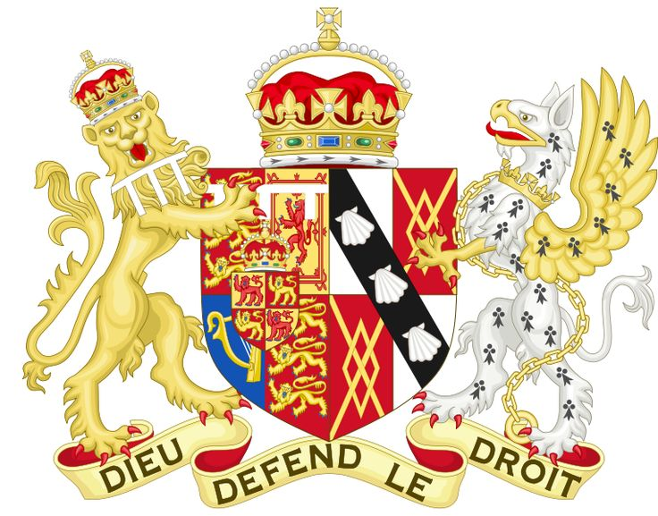 Coat of Arms of Diana, Princess of Wales