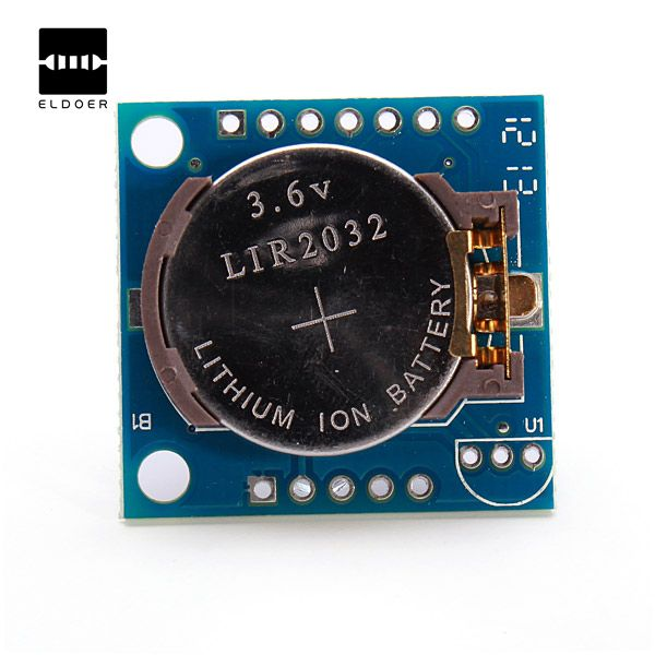 New High quality RTC I2C AT24C32 Tiny DS1307 Real Time Clock Module Board For Arduino With A Battery 27 x 28 x 8.4mm