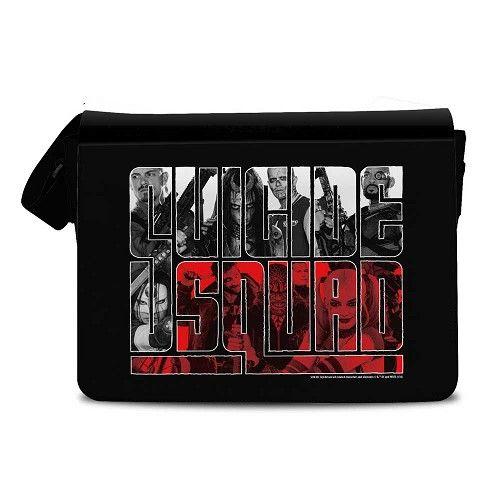 Suicide Squad - Messenger schouder tas zwart - Superhelden comics merchandise