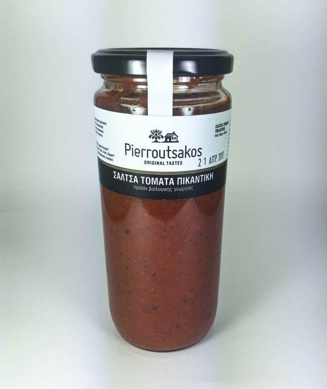 ''PIERROUTSAKOS'' Organic Spicy Tomato Sauce