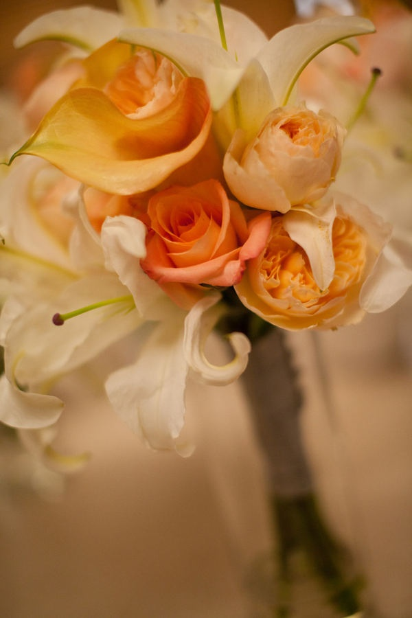 Museum Of Fine Arts Wedding By Stonehouse Events More Inc Peach FlowersPeach RoseFlower