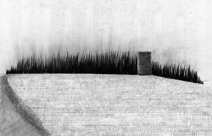 Google Image Result for http://middletonvanjonker.files.wordpress.com/2010/11/zumthorbruderklaussmall.jpg: Brother Klaus, Architecture Drawings, Klaus Chapel, Peter O'Tool, Pritzker 2009 Peter Zumthor, Pencil Drawings, Zumthor Bruder, Peter Zumthor Drawings, Inspiration Drawings