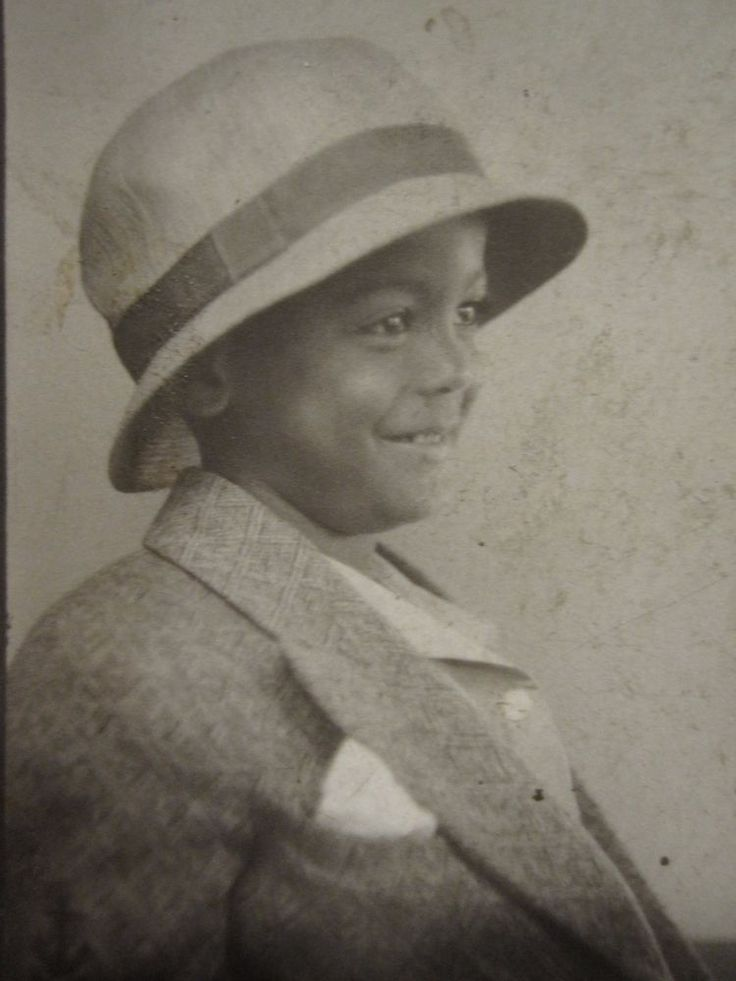 ANTIQUE VINTAGE AFRICAN AMERICAN ARTISTIC PROFILE ANGEL BOY OLD PHOTOBOOTH PHOTO | eBay