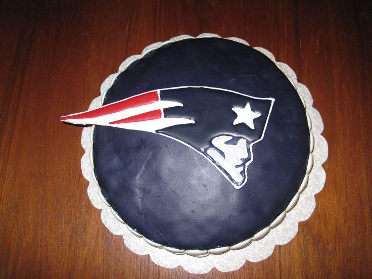 Patriots Superbowl 2012 Cake