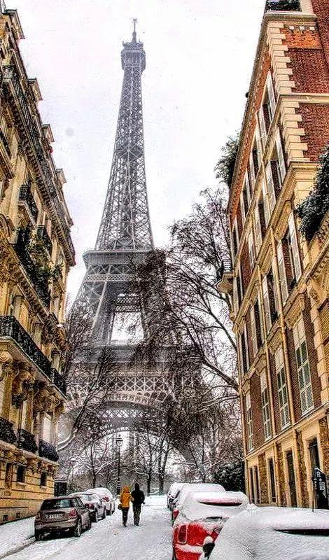 Фото: Париж зимой..........Франция...........