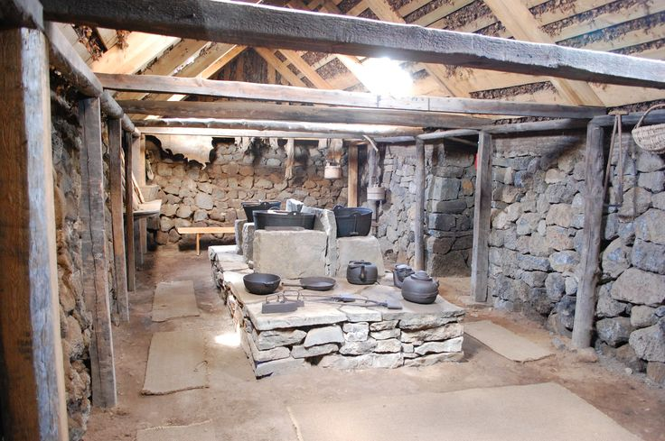 Icelandic medieval kitchen