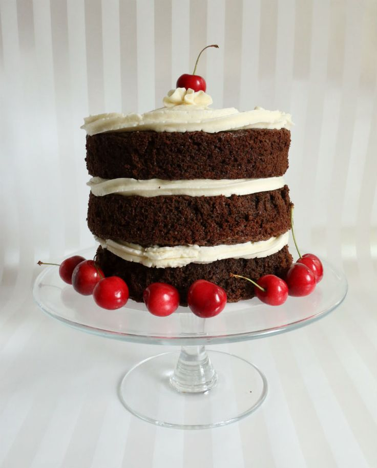Tiered Semi Naked Carrot Cake Recipe