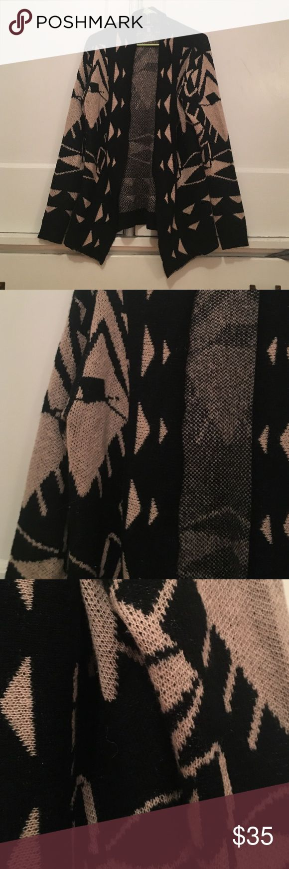 Tribal Print Cardigan Never been worn super soft tribal sweater. I love this so much. Hopefully it can find a good home in your closest. Not anthro, from a boutique. Anthropologie Sweaters Cardigans
