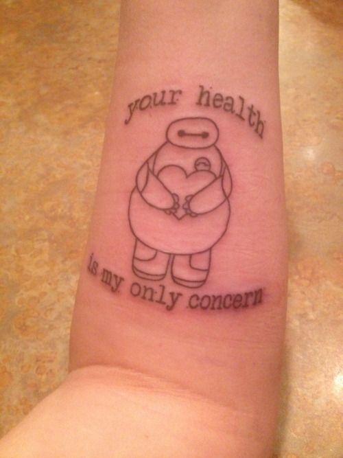 Baymax Tattoo Google Search Cute Tattoo Ideas
