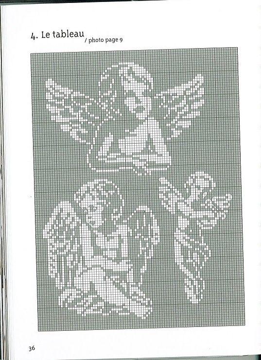 Gallery.ru / Photo # 30 – Anges Motifs de broderie traditionnelle et au point de croix – anfisa1 | REPINNED