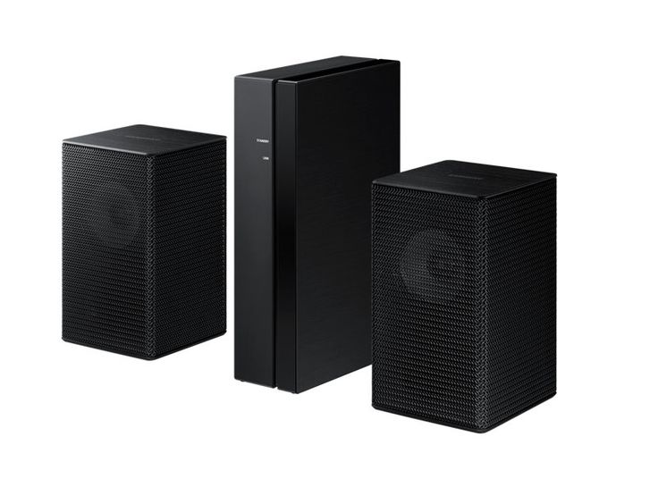 Expand your surround sound system easily without the mess of wires*Wireless surround sound ready. The Wireless Surround Kit* lets you expand your surround sound system easily without the mess of wires**. Together with your Soundbar, you can create a multi-channel system for a true surround sound experience