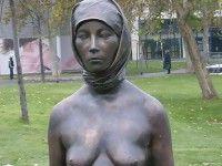 türbanlı kadın heykeli (8)