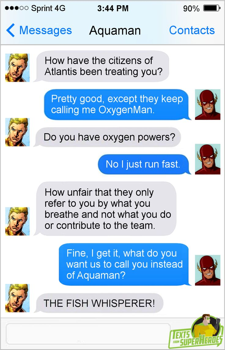 Texts From SuperheroesFacebook | Twitter | Patreon