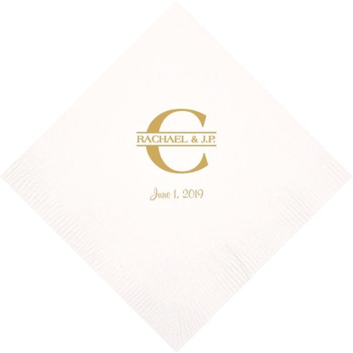 Wedding Cocktail Napkins.3 Ply Cocktail Napkins Set Of 50 In 2019 Wedding Napkins