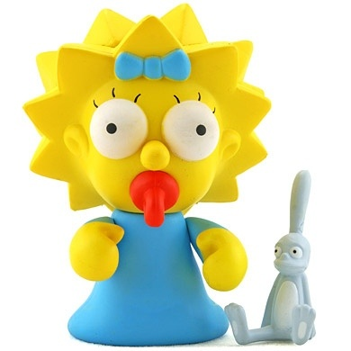 """Toy103 """" Maggie"""" by Matt Groening / Simpsons Series for Kid Robot (2008) #Toy"""