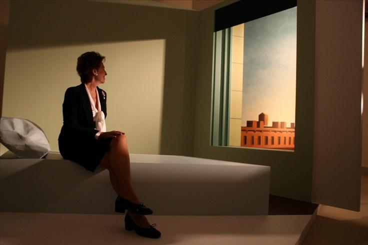 Edward Hopper .Nighthawks