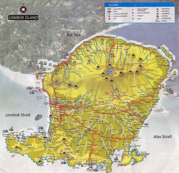14 best maps images on Pinterest Cards Lombok and Maps