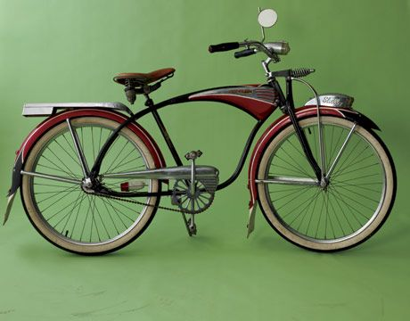 Shelby Bicycle.  Love to have this for the farm.  25 acres is a lot of walking