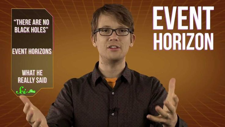 SciShow Explains What Stephen Hawking Really Said About Black Holes