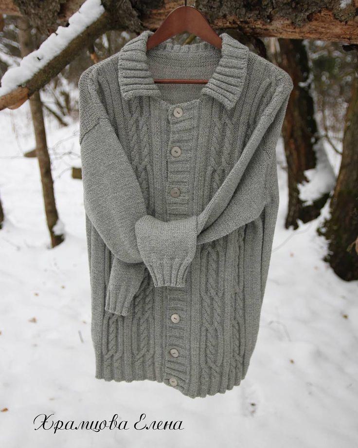 Мужской кардиган выполнен из мериноса с хлопком р-р 54. Прекрасно вписывается в офисный дресс код. Уезжает к своему хозяину. #вяжуназаказ #мужскойкардиган #кардиган #мужскойджемпер #мужскойпуловер #вязаныйкардиган #вяжутнетолькобабушки #elenakhra_knit #knitting #knit #kardigan #араны #handmade