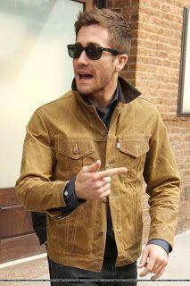 WEIRDLAND: Jake Gyllenhaal outside the ABC Studios in NYC