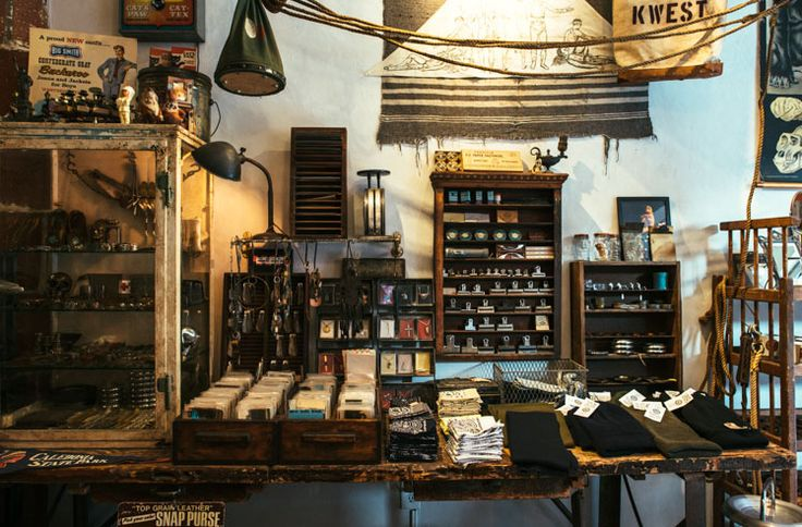 Front General Store Shop Vintage Clothing Newyork