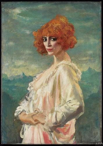 Augustus Edwin John (British, 1878-1961) The Marchesa Casati  1919