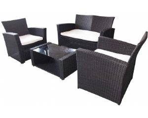 4 piece Outdoor Sofa Set - BigPond Shopping