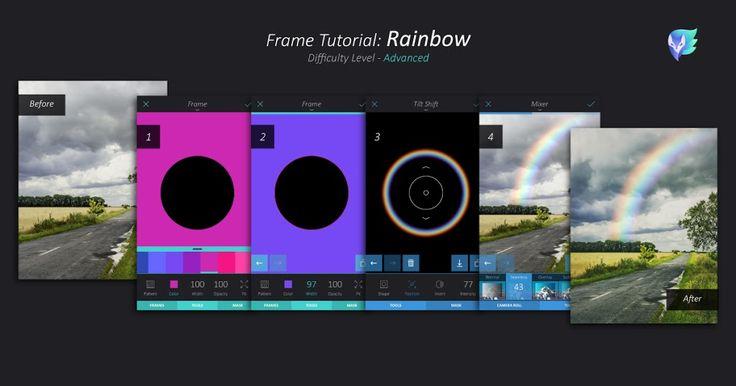 Frame Tutorial: Rainbow   Enlight   Enlight Leak