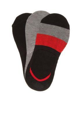 Legale  Colorblock Liner Socks- 3 Pack