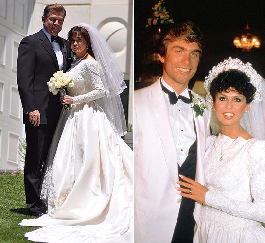 Flashback Wedding As Marie Osmond Remarries First Husband