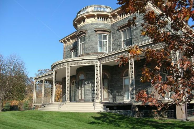 The James House Mansion on the property of Phelps Memorial Hospital  http://jameshousemansion.com/about/