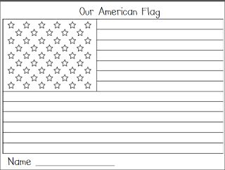 Mrs. Garrett's Groovy Kindergarten: Pledge of Allegiance  Flag FREEBIE!