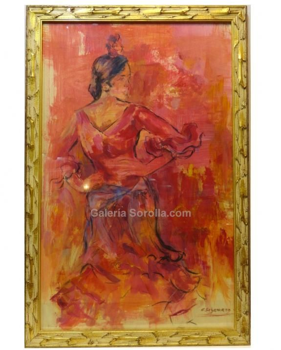 13 best Cuadros de arte flamenco images on Pinterest  Flamenco