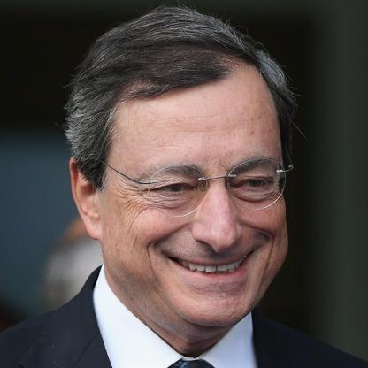 #8: Mario Draghi. President of the European Central Bank.